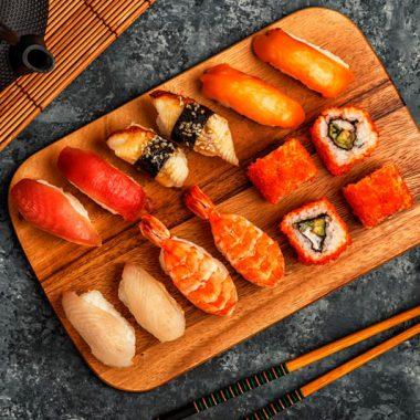 Меню суши гунканы